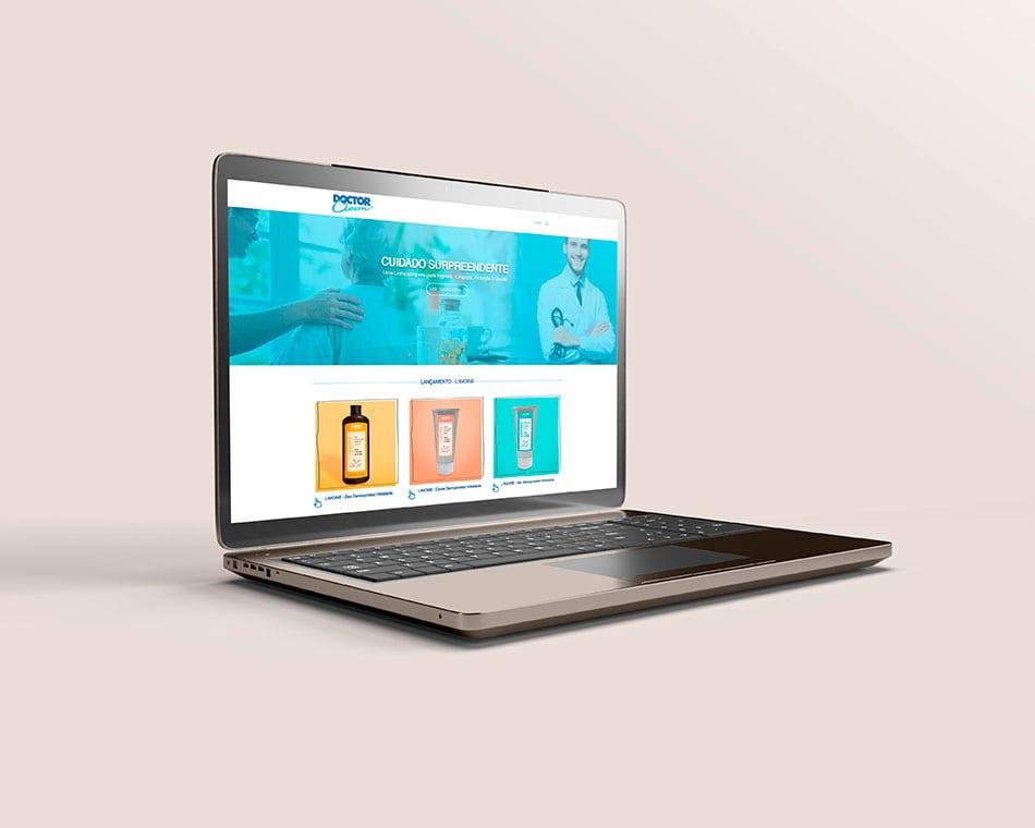 Portfólio Website Doctor Clean