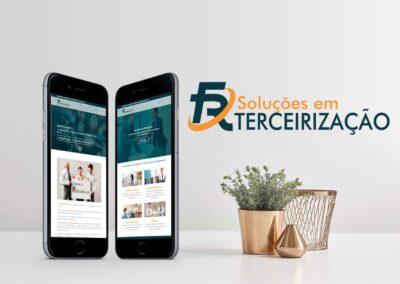 Criação da marca e site da FR Terceirização