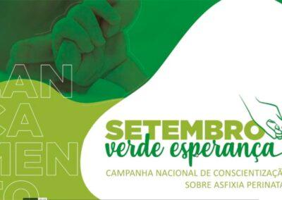 Criação do site da Setembro Verde Esperança